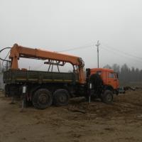 Буровая установка на базе Камаза